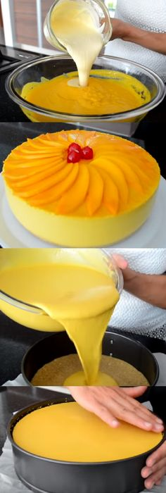 Mexican Food Recipes, Dessert Recipes, Flan Recipe, Filipino Desserts, Different Cakes, Pie Cake, Love Food, Food And Drink, Cooking Recipes