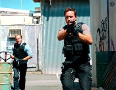 I love the way he looks in these scenes. Too hot to bear it! #AlexOLoughlin