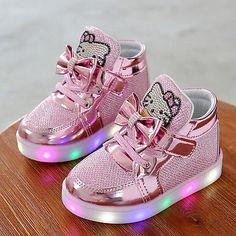LED Kids Boys Girls Shoes Light Up Luminous Children Trainers Sport Sneakers b1c73e2dd61