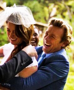 Patrick Jane and Teresa Lisbon - eventually they made it!