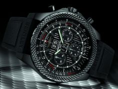 Breitling for Bentley 6.75 Midnight Carbon Limited Edition automatic wrist watch.  NEED THIS!
