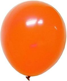 """Custom, Fun & Cool {Big Large Size 12"""" Inch} 36 Pack of Helium & Air Inflatable Latex Rubber Balloons w/ Fun Festive Design [in Bright Orange Color] mySimple Products"""