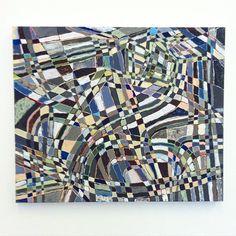 Clark Derbes at Devin Borden Gallery, Houston, Photo taken by Clark Derbes