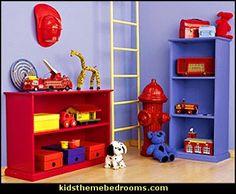 Decorating theme bedrooms - Maries Manor: fire truck bedroom decor ...