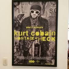 Image result for cobain heck movie poster