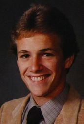 Luke Perry, Senior Year at Ohio's Fredericktown High School in 1984 Celebrities Then And Now, Young Celebrities, Celebs, Hot Actors, Actors & Actresses, Young Actors, Luke Perry, Celebrity Photography, Yearbook Photos
