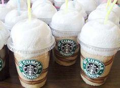 Toallas Malteada Starbucks Recuerdos Cumpleaños Baby Shower