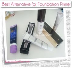 An Alternative to SmashBox Photo Finish Foundation Primer – A Cheap Alternative for a Makeup Primer | Beauty and MakeUp Tips