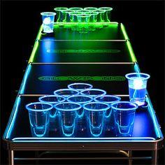 Glowpong: LED Beer Pong Table