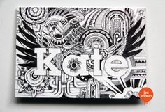 Doodle Card for Kate