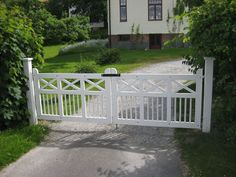 Katrineholms Snickeri AB » Vita grindar
