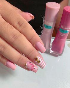 Fall Nail Designs - My Cool Nail Designs Cute Summer Nail Designs, Cute Spring Nails, Bright Summer Nails, Cute Acrylic Nail Designs, Fall Nail Designs, Nail Polish Designs, Cute Acrylic Nails, Cute Nails, Manicure E Pedicure