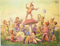 A Fairy Band by Winifred Margaret Tarrant from b_a_n_s_h_e_e: Do you believe in Fairies? Part 2