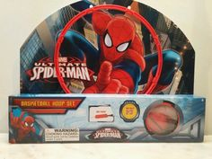 Basketball Hoop Set Marvel Spider-man New in package 2014 Boys & Girls 4+ #Marvel