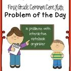 First Grade Common Core Math Word Problems of the Day