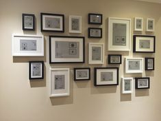 bedroom Bedroom Picture Frame Layout Ideas Ikea Ribba Frames Shelf Black And White Gallery Wall For Stairs Gikea ribba Ikea Gallery Wall, Gallery Wall Layout, Gallery Walls, Frame Gallery, Ikea Pictures, Bedroom Pictures, Picture Frame Layout, Photo Wall Layout, Picture Walls