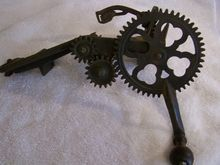 Goodell Apple Peeler Cast Iron 1898, vintage kitchenware, antique kitchenware