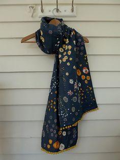 Nani Iro double gauze scarf.