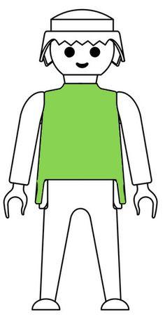 Green Playmobil