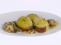 Get Parmesan-Crusted Pork Loin Cutlets Recipe from Food Network
