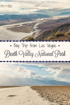 Take a day trip from Las Vegas to explore Death Valley National Park, California.