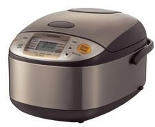 Zojirushi NS-TSC10 5-1/2-Cup (Uncooked) Micom Rice Cooker and Warmer: solve the perfect rice recipes riddle with this rice cooker, buy now with discounted price.