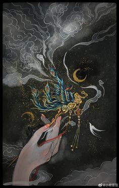 Canvas Painting Designs, Antique Illustration, China Art, Fantasy Artwork, Cool Artwork, Amazing Art, Character Art, Pop Art, Art Drawings