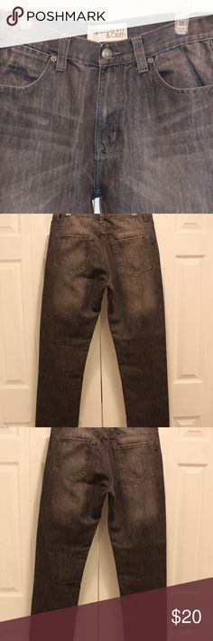 Paper Denim & Cloth Gray Men's Barely worn PD&C gray men's jeans.  Beautifully constructed, while the original tags are not on the jeans they are like new.  Size 32 X32  Subtle stitching on back pockets with an overall slightly worn look on front and back of jeans. Paper Denim & Cloth Jeans