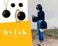 Styling by tildaberggren showing Bubble Ring Black Medium Gold, Bubble Pendant Black Gold and Bubble Ear Studs Black Medium Gold #jewellery #Jewelry #bangles #amulet #dogtag #medallion #choker #charms #Pendant #Earring #EarringBackPeace #EarJacket #EarSticks #Necklace #Earcuff #Bracelet #Minimal #minimalistic #ContemporaryJewellery #zirkonia #Gemstone #JewelleryStone #JewelleryDesign #CreativeJewellery #OxidizedJewellery #gold #silver #rosegold #hoops #armcuff #jewls #jewelleryInspiration…