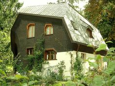 Anthroposophic Architecture: Older House near Goetheanum by archisculpture, via Flickr