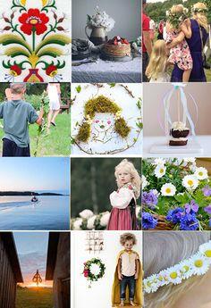 willowday: Inspiration for Swedish Midsummer