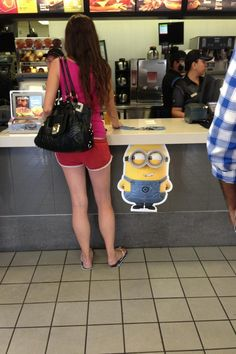 Minion checking out dat ass - Imgur