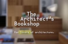 Logo, business cards, bookmarks, signage and tote bags by Australian studio Garbett for The Architect's Bookshop Identity Design, Visual Identity, Logo Design, Graphic Design, Brand Architecture, Material World, Book Stands, Price Sticker, Built Environment