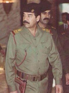 Saddam Hussein, World History, Middle East, Chef Jackets, Superhero, Photography, History, History Of The World, Fotografie