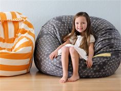 How to make a bean bag without the beans!!! Someone make one, I'll buy it!