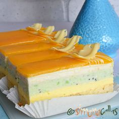 Kiwi, Oreo Mousse, Snickers Cheesecake, Mocca, Food Cakes, Desert Recipes, Pasta, Vanilla Cake, Creme