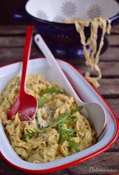 Delimamma: Domowy makaron z sosem z cukinii