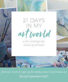 What Is An Artist, Online Art Courses, Lost Art, 21 Days, Art Techniques, Art World, Creative Inspiration, Art Tutorials, Art Lessons