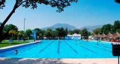 Disfruta de la alberca olímpica en el Balneario Dios Padre en #Ixmiquilpan, #Hidalgo.