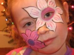 Flower Face Painting for Children: Designs, Tips and Tutorials