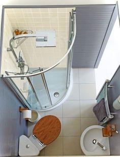 Kleine-tiny bathroom