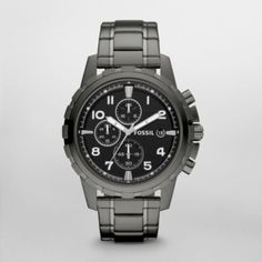Timeless Machine Stainless Steel Watch – Fossil