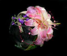 Diadema para niña Con Lili Asiatica Natural. Pidela en www.ederfloresluxuryflowers.com