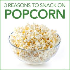 Are There Health Benefits to Eating Popcorn
