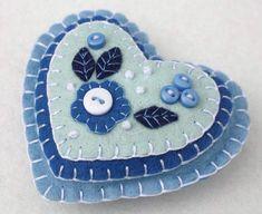 CIJ Sale Christmas in July Felt Christmas ornament Handmade