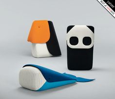 Zoo by Ionna Vautrin, curated by Constance Rubini for Hallingdal 65 by Kvadrat  BEST OF MILAN DESIGN WEEK 2012 by Yatzer