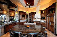 Belvedere in Lake Travis Kitchen Elegance by Zbranek & Holt Custom Homes, Lakeway and Austin Luxury Custom Homes