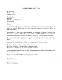 Application Letter Sample For Fresh Graduate Computer Science with Application Letter For Job For Fresh Simple Cover Letter Template, Cover Letter Example, Cover Letter For Resume, Cover Letters, College Admission Essay Examples, College Application Essay Examples, Letter Writing Samples, Job Letter, Simple Application Letter