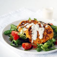 Carrot burgers by Including cake