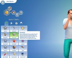 Mod The Sims: Borderline Personality Disorder Custom Trait by miceylulu • Sims 4 Downloads